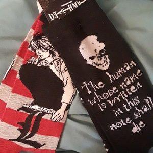 Brand New Death Note Socks